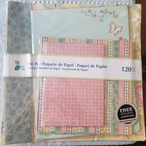 Brand New Paper Kit 120 Sheets